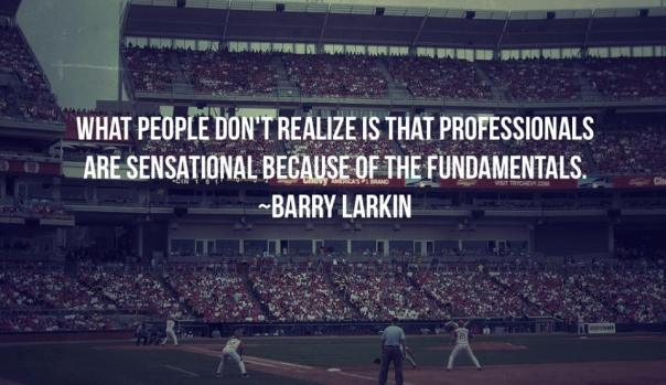 Music Fundamentals Barry Larkin quote