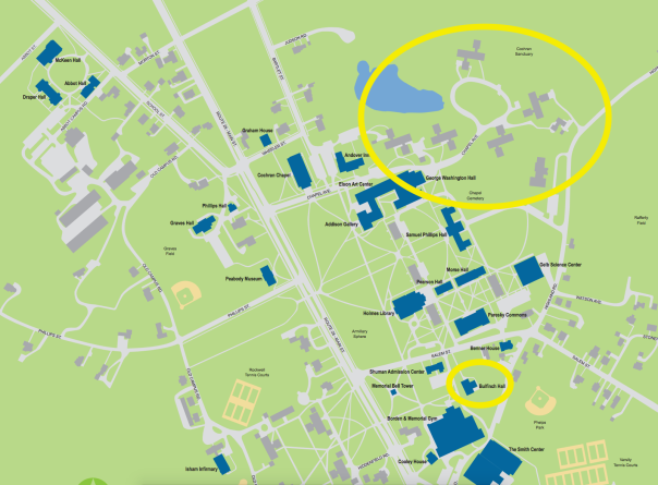 Andover Campus Map